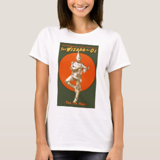 Wizard Of Oz Tin Man - Vintage Musical Theater T-Shirt