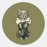Wizard of Oz Toto Classic Round Sticker