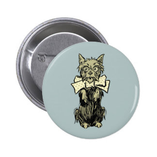 Wizard of Oz Toto Pinback Button