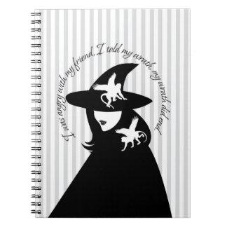 Wizard of Oz- Wicked Witch Notebook