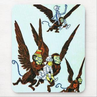 Wizard of Oz Winged monkeys flying monkeys Mouse Pad