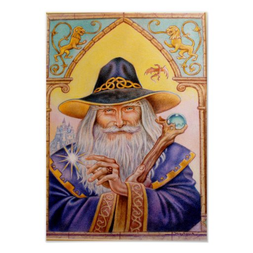Wizard of Ravndal Castle Posters
