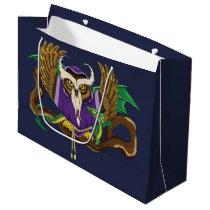 Wizard Owl & Dragon Large Gift Bag