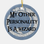 Wizard Personality Christmas Ornament