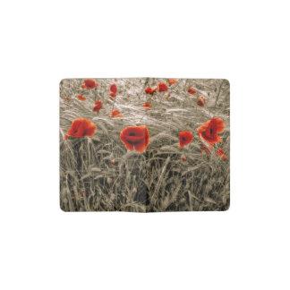 Wizard Poppies Pocket Moleskine Notebook