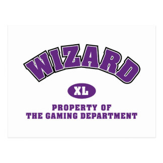 Wizard Postcard