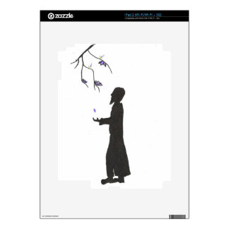 Wizard Reads The Omens iPad 2 Skins