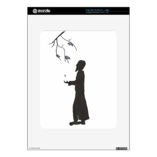 Wizard Reads The Omens iPad Decals