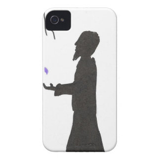 Wizard Reads The Omens iPhone 4 Cover