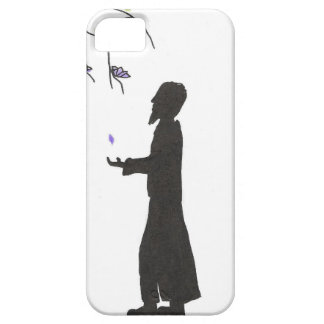 Wizard Reads The Omens iPhone SE/5/5s Case