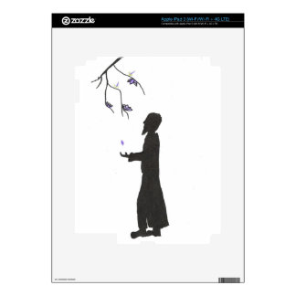 Wizard Reads The Omens Skin For iPad 3