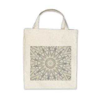 wizard ruler organic tote bag