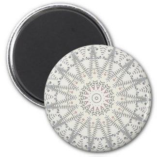 wizard ruler round magnet