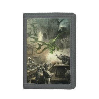 Wizard School Tri-fold Wallets