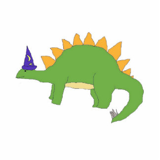 Wizard Stegosaurus sculpture