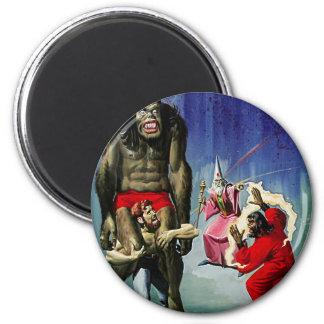 Wizard vs Monkeydude! Magnet