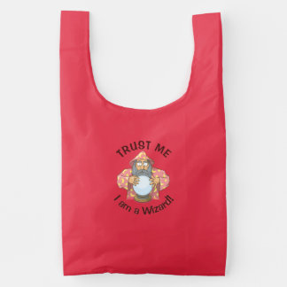 Wizard with Ball Reusable Bag