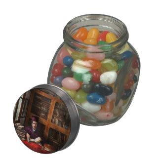 Wizard - Wizard in training 1898-1946 Glass Candy Jars