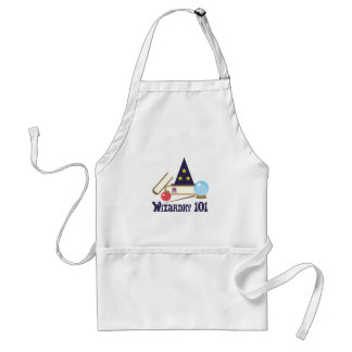 Wizardry 101 adult apron