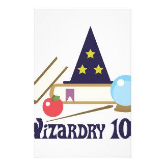 Wizardry 101 stationery