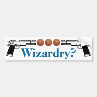Wizardry? Bumper Sticker