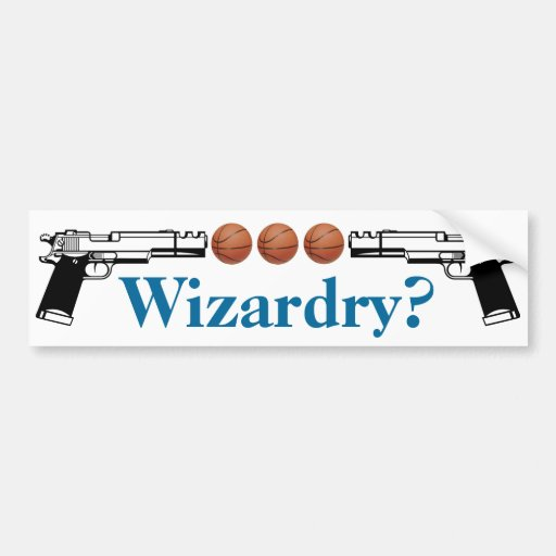 Wizardry? Car Bumper Sticker