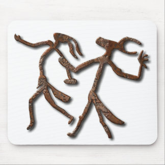 Wizards Dance-rust mousepad