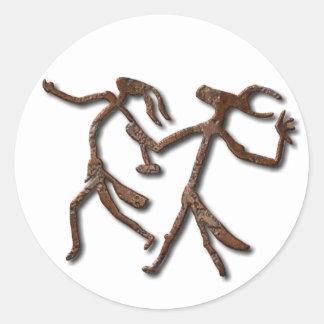 Wizards Dance-rust sticker