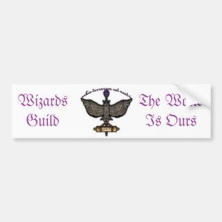 Wizards Guild Bumper Sticker