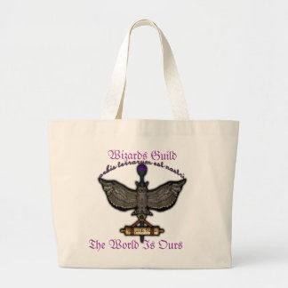Wizards Guild Large Tote Bag