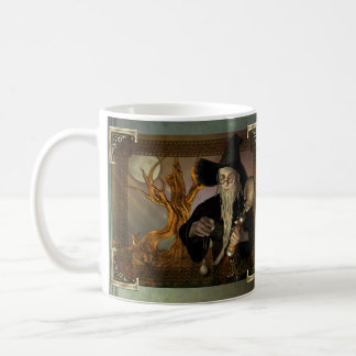 Wizards Magic Fantasy Illustration Mugs