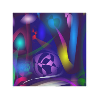 Wizard's Private Room Stretched Canvas Prints