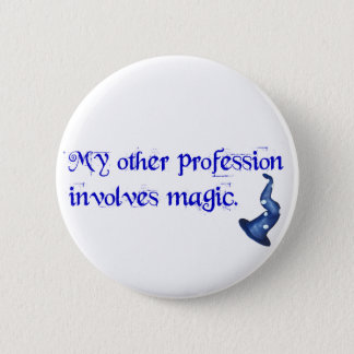 Wizards Profession Pinback Button