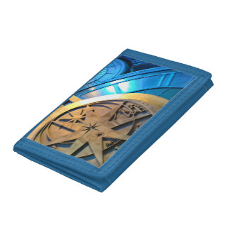 WIZARDS TIME PIECE TRI-FOLD WALLET