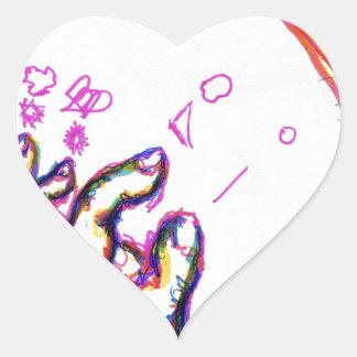 Wizards Willing Worlds Heart Sticker