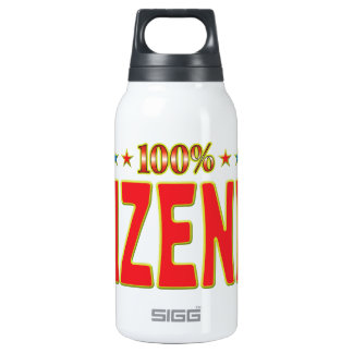 Wizened Star Tag 10 Oz Insulated SIGG Thermos Water Bottle