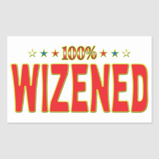 Wizened Star Tag Rectangular Sticker