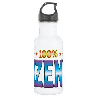 Wizened Star Tag v2 18oz Water Bottle
