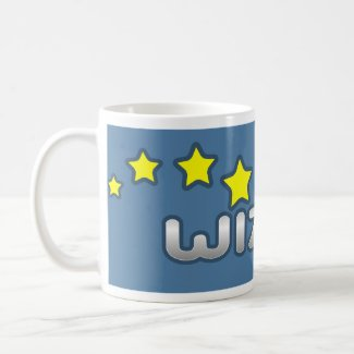 Wizzley Mug Blue mug