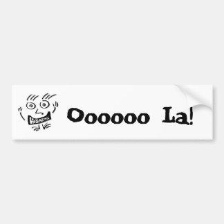 Wizzy Doodle Nut ds - Bumper Stickers
