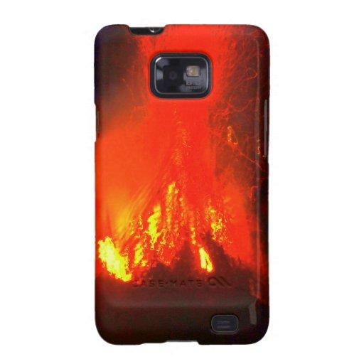 WJ fire Samsung Galaxy S2 Case