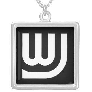 WJ Logo Necklace