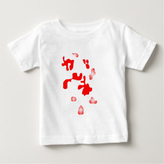 WJ red points Baby T-Shirt