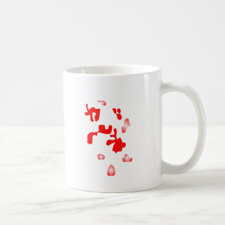 WJ red points Mugs