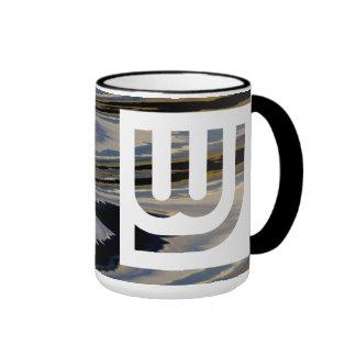 WJ Trip Wtr Orng Blu Mug Coffee Mugs
