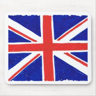 WJ UK flag Mouse Pad