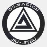 WJJ Black Bumper Sticker