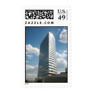 WJLA-TV Building in Rosslyn, Virginia Postage Stamp