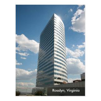 WJLA-TV Building in Rosslyn, Virginia Postcard