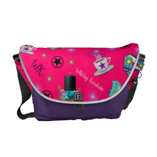 WK #ModernWitchLife Pink Print Overnight Bag